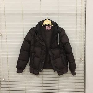 Signature Juicy Couture down feather puffer
